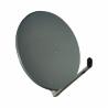 Kvalitná hliníková parabola má priemer 85 cm. Ide o sivé prevedenie paraboly. Stožiarové objímky zabezpečujú stabilitu. Dlhú životnosť úchytu zabezpečí pevný materiál, z ktorého je vyrobený. Z kvalitného hliníkového materiálu je vyrobené podporné rameno.
