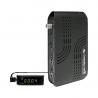 Nový model digitálneho prijímača AB Cryptobox 700 HD v mini verzii, ktorý je možné vďaka externému IR čidlu s displejom skryť za Váš televízor. Satelitné vysielanie v SD a HD kvalite s rozlíšením do 1080p. Umožňuje prehrávanie multimediálnych obsahov prostredníctvom dvoch USB portov, disponuje však aj ďalšími: 1x HDMI port, 1x AV konektor, 1x RS232, 1x LAN, 1 x SAT vstup, digitálny výstup zvuku, konektor na pripojenie internetu a univerzálna čítačka kariet.