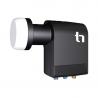 Ide o inovovaný LNB konvertor, ktorý je kompatibilný s multiprepínačom Unicable. Umožní pripojenie až 6 tunerových prijímačov.  Nízke šumové číslo 0,2 dB a vysoký zisk 57dB. Súčasťou je výstupný konektor F.